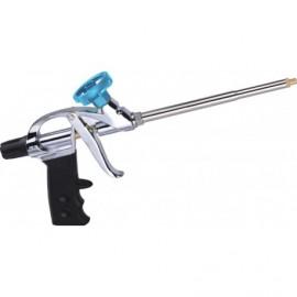 NBS Purpistool metaal prof. blauw/zwart