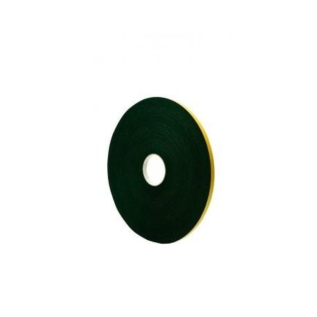 Zwaluw Paneltape zwart 12x3mm x25M1