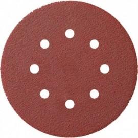 Gemeentebezem ronde kap 45cm m.PPN vezels rood