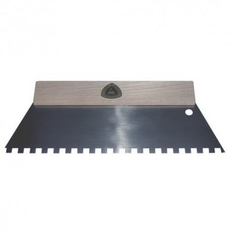 Lijmkam met houten handvat 15t. 3x3x3mm