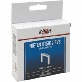 Niet RVS. 2000st/doos 12mm 1/2 HT50