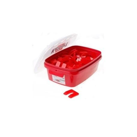 Uitvulplaatje 5mm rood   138st