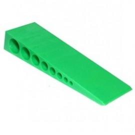 Wig groen 150x45x25mm 16st/doos
